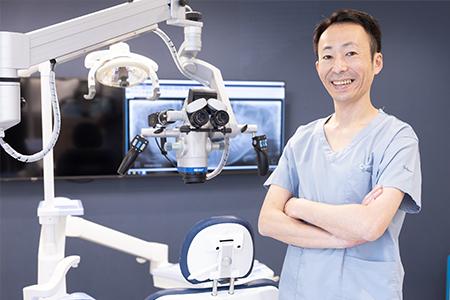 ダイヤビル歯科の院長 内藤 浩司